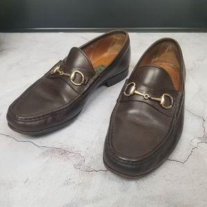 Gucci mens 1953 Roos Bit loafer slip on 44 11